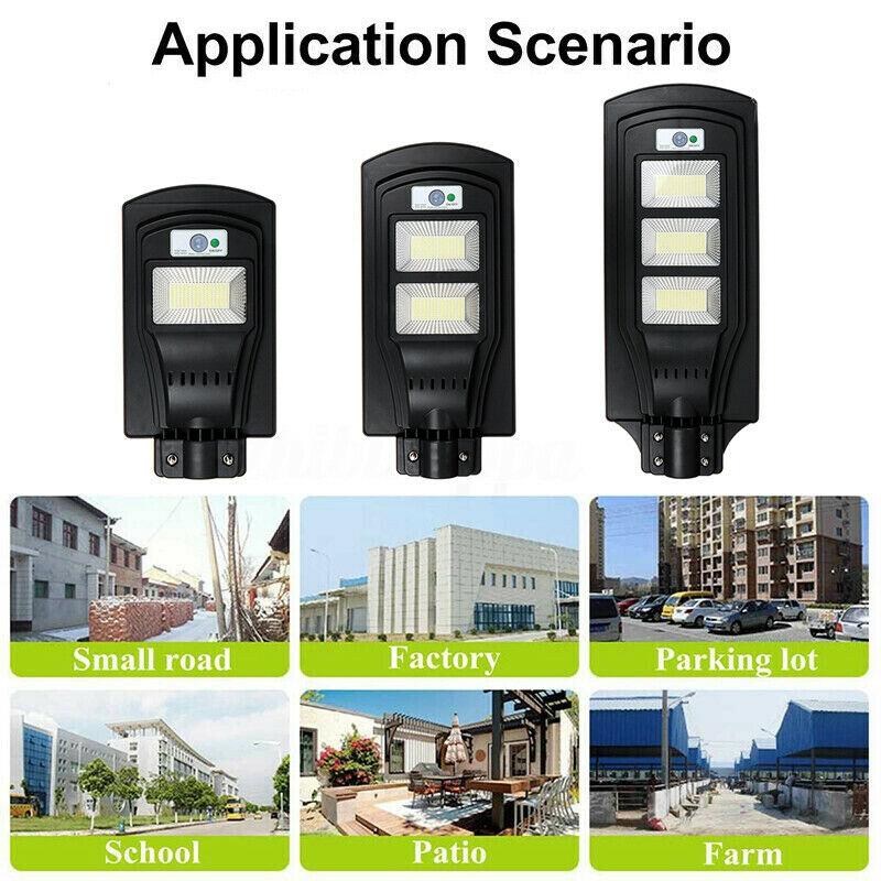 Lampadaire-Solaire-avec-Applique-Murale-pour-Capteur-de-Mouvement-PIR-a-Dis-V6W8 miniature 9