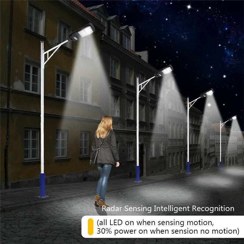 Lampadaire-Solaire-avec-Applique-Murale-pour-Capteur-de-Mouvement-PIR-a-Dis-V6W8 miniature 11