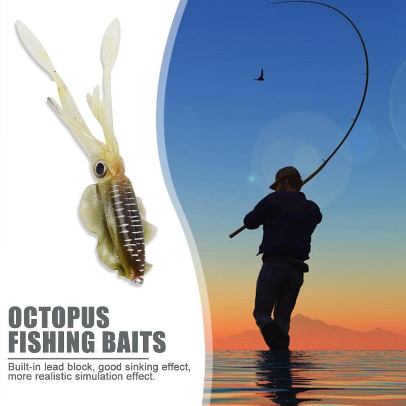 Fisch-KoeDer-Leuchtender-Tintenfisch-Fishing-Doppelt-Haken-Tackles-Lockt-PVC-P8K4 Indexbild 4