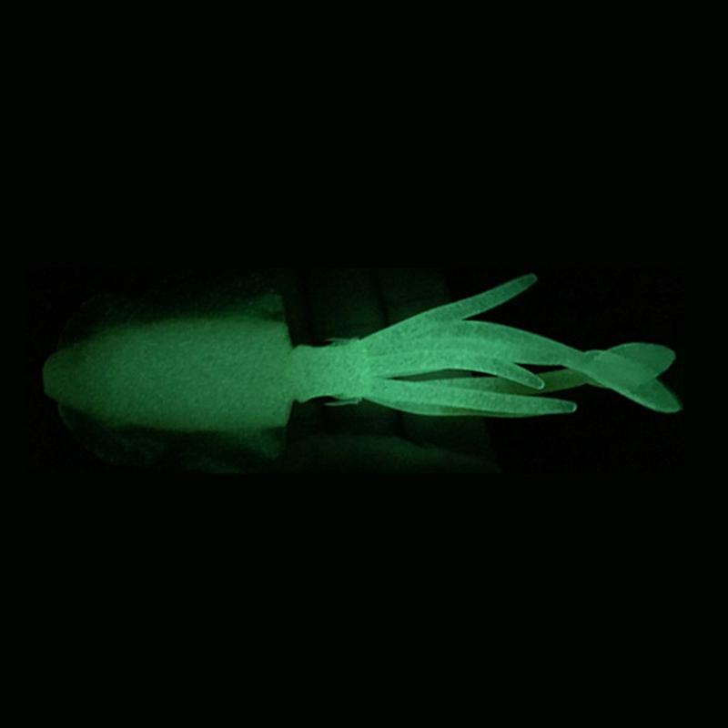 Fisch-KoeDer-Leuchtender-Tintenfisch-Fishing-Doppelt-Haken-Tackles-Lockt-PVC-P8K4 Indexbild 16