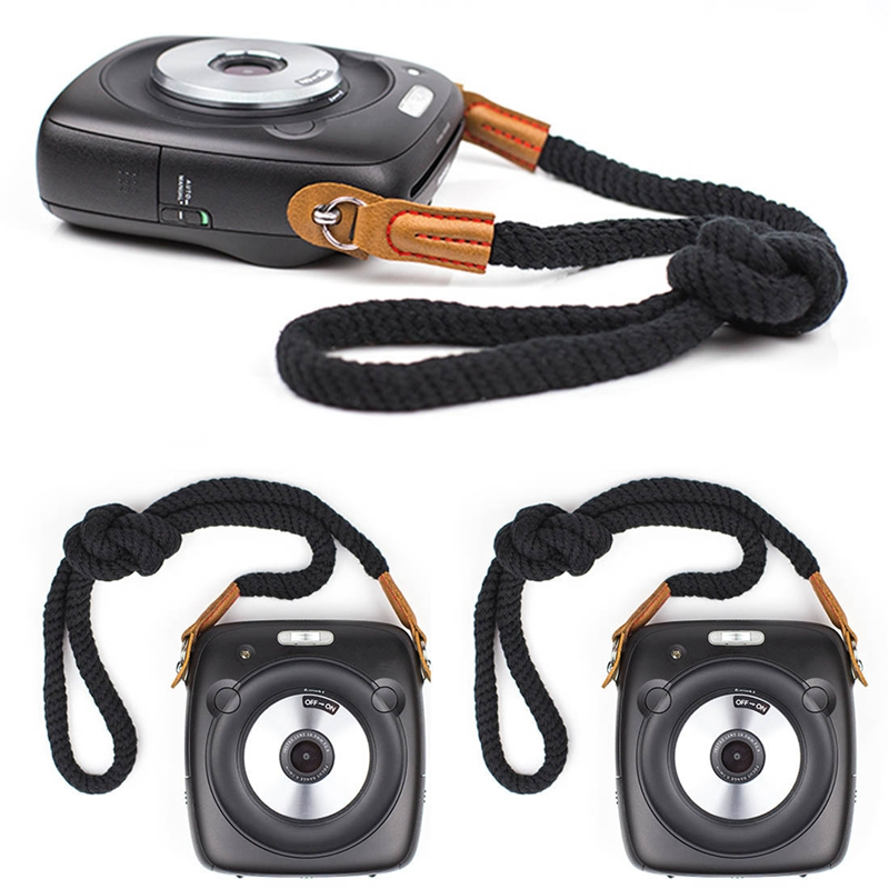 miniatura 7 - 100cm spalla elegante cotone Camera Neck Strap Belt per Mirrorless fotocame H1J4