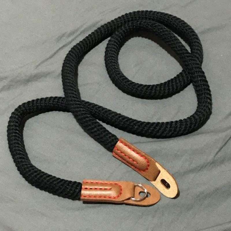 miniatura 9 - 100cm spalla elegante cotone Camera Neck Strap Belt per Mirrorless fotocame H1J4