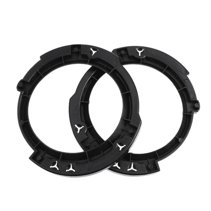 2X(1 Pair 7Inch Headlight Round Ring Mounting Bracket for 20