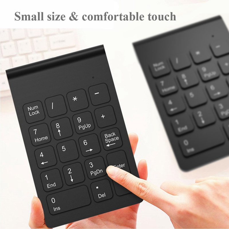 Wireless-2-4GHz-18-Keys-Number-Pad-Numeric-Keypad-Keyboard-for-Laptop-PC-amp-N3S9 thumbnail 15