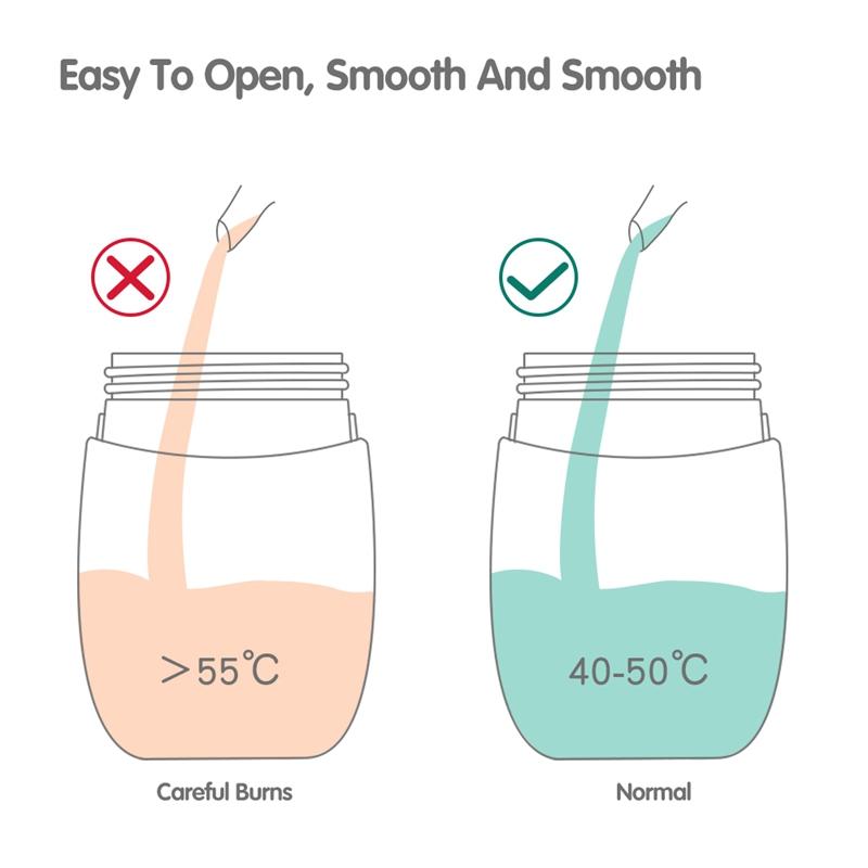 Baby-Babyflaschen-Tassen-Kinder-Wasser-Milchflasche-Weichen-Mund-Entenschna-K5Q4 Indexbild 7