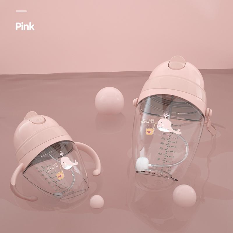 Baby-Babyflaschen-Tassen-Kinder-Wasser-Milchflasche-Weichen-Mund-Entenschna-K5Q4 Indexbild 20