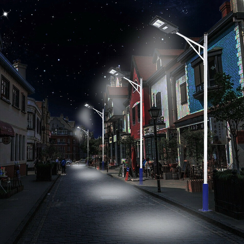 Solar-Wall-Street-Light-PIR-Sensor-de-Movimiento-LaMpara-de-Exterior-Cont-R3T8 miniatura 8