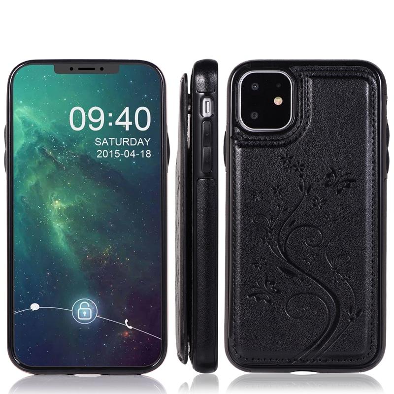 Indexbild 3 - fuer-Iphone-11-Case-fuer-Iphone-11-X-Xs-Xr-Abdeckung-MaeNner-Telefon-Brieftasc-B6O4