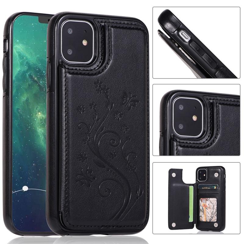 Indexbild 4 - fuer-Iphone-11-Case-fuer-Iphone-11-X-Xs-Xr-Abdeckung-MaeNner-Telefon-Brieftasc-B6O4