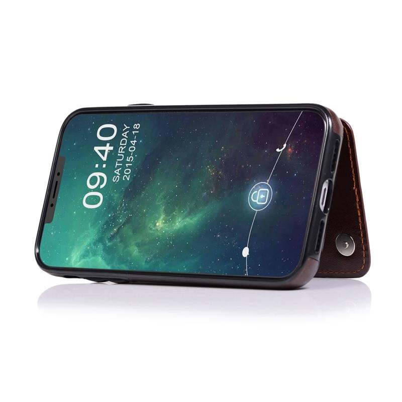 Indexbild 16 - fuer-Iphone-11-Case-fuer-Iphone-11-X-Xs-Xr-Abdeckung-MaeNner-Telefon-Brieftasc-B6O4
