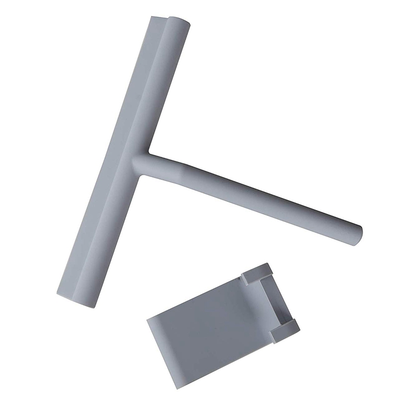 Shower-Squeegee-Window-Glass-Wiper-Scraper-Cleaner-with-Silicone-Blade-amp-Ho-A3G1 thumbnail 5