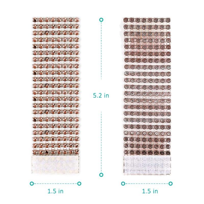 50-Pack-Serviettenringe-Gold-Serviettenringe-Schnallen-fuer-Tischdekoration-U4L2 Indexbild 3