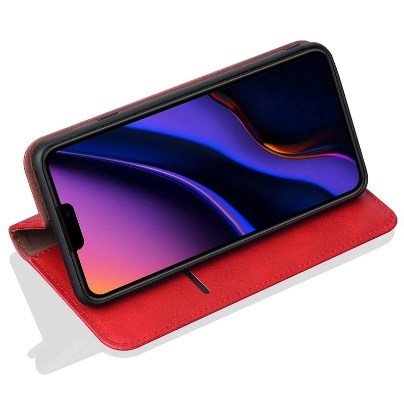 Indexbild 6 - fuer-IPhone-PU-Brieftasche-Ledertasche-Kreditkartensteckplatz-Magnetische-Br-G9S3