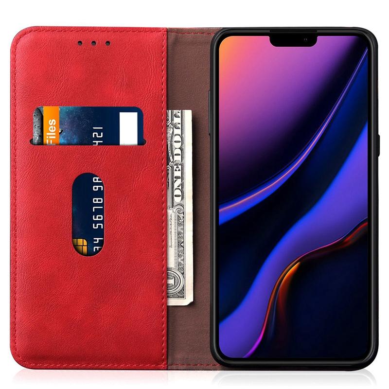 Indexbild 7 - fuer-IPhone-PU-Brieftasche-Ledertasche-Kreditkartensteckplatz-Magnetische-Br-G9S3