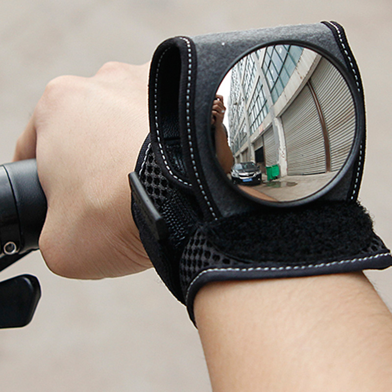 Good Hand Cycling Wrist Mirror Rear View Rearview Safety Bike Arm Back Mirro NU3