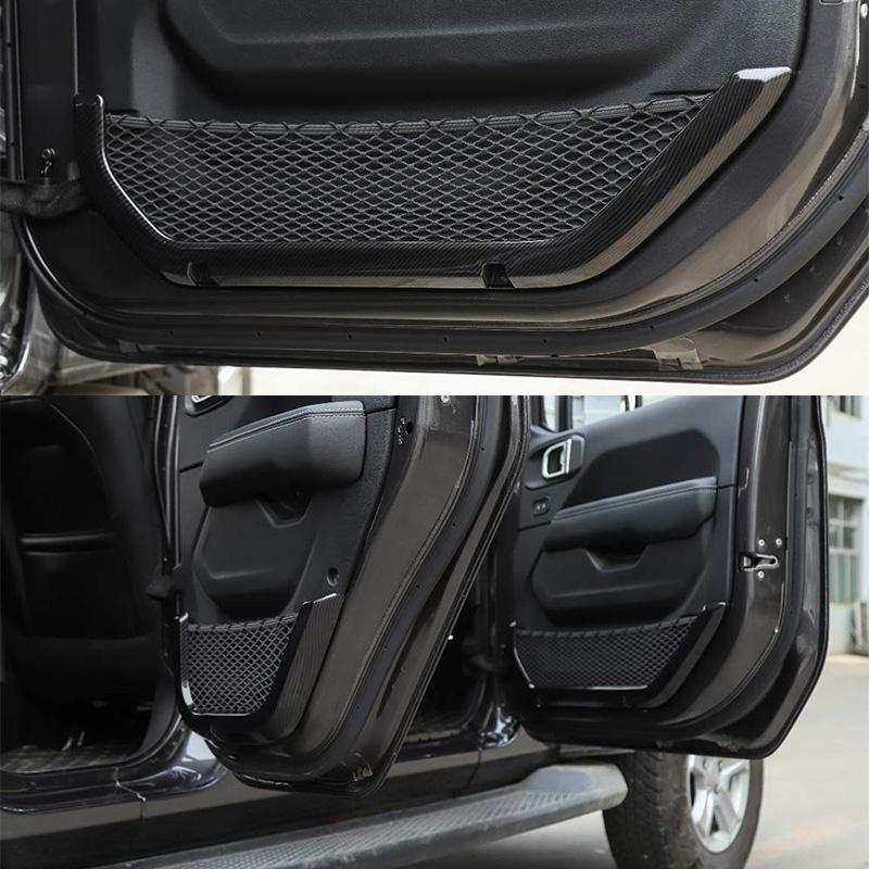 ABS-Voiture-Porte-InteRieure-BoiTe-de-Rangement-Net-ChaiNe-Sac-Sac-Filet-DeCorat miniature 4