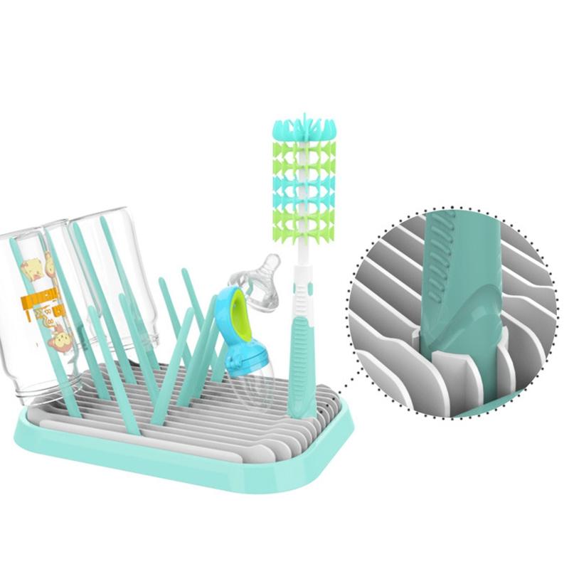 1X-Baby-Bottle-Holder-for-Feeding-Drainer-Bottle-Portable-Drying-Grass-Cup-K5J1 thumbnail 23