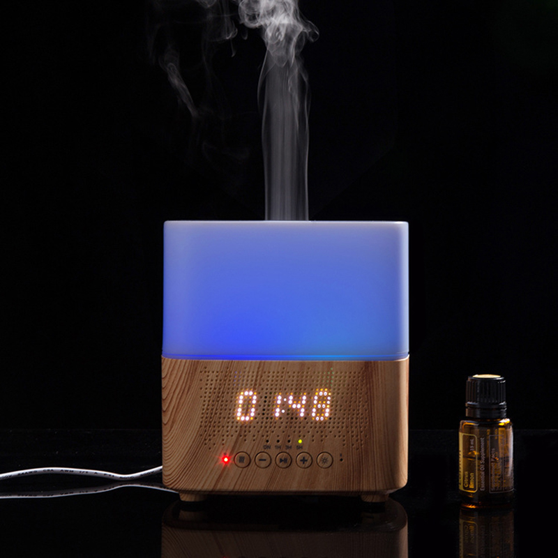 300-Ml-Multifunktionale-Bluetooth-AromaoeL-Diffusor-mit-Wecker-Aromatherapie-K9T9 Indexbild 15