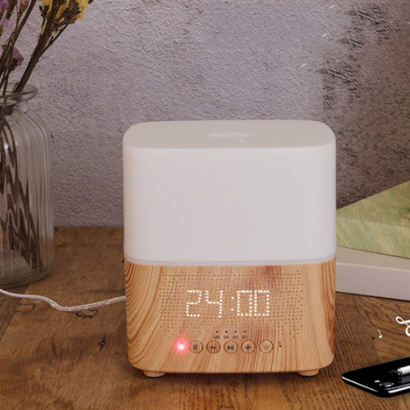 300-Ml-Multifunktionale-Bluetooth-AromaoeL-Diffusor-mit-Wecker-Aromatherapie-K9T9 Indexbild 18