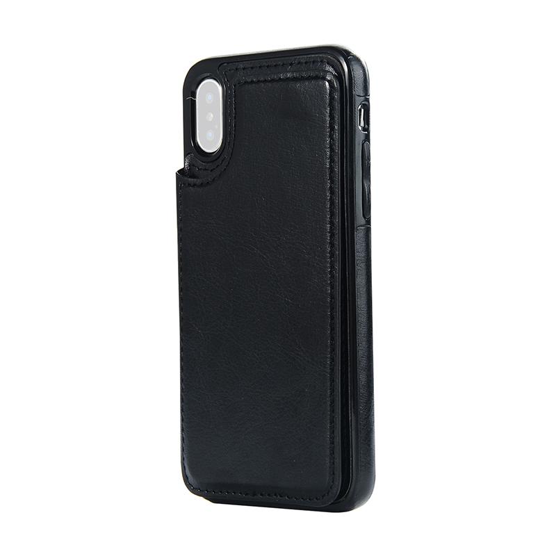 Indexbild 3 - fuer-das-IPhone-Magnetische-Leder-Brieftasche-Fall-Kartensteckplatz-StossFest-R1V3
