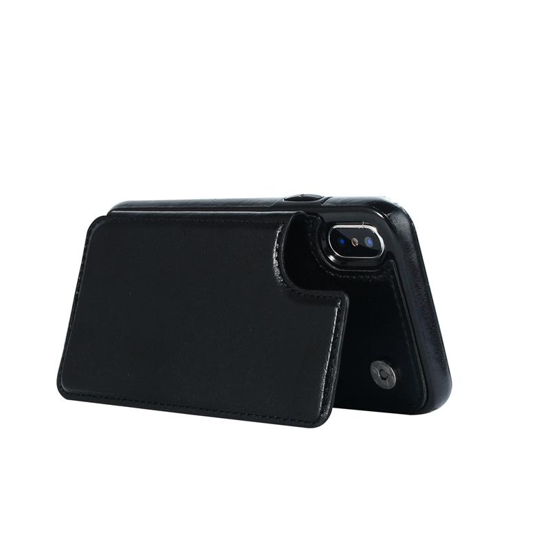 Indexbild 5 - fuer-das-IPhone-Magnetische-Leder-Brieftasche-Fall-Kartensteckplatz-StossFest-R1V3