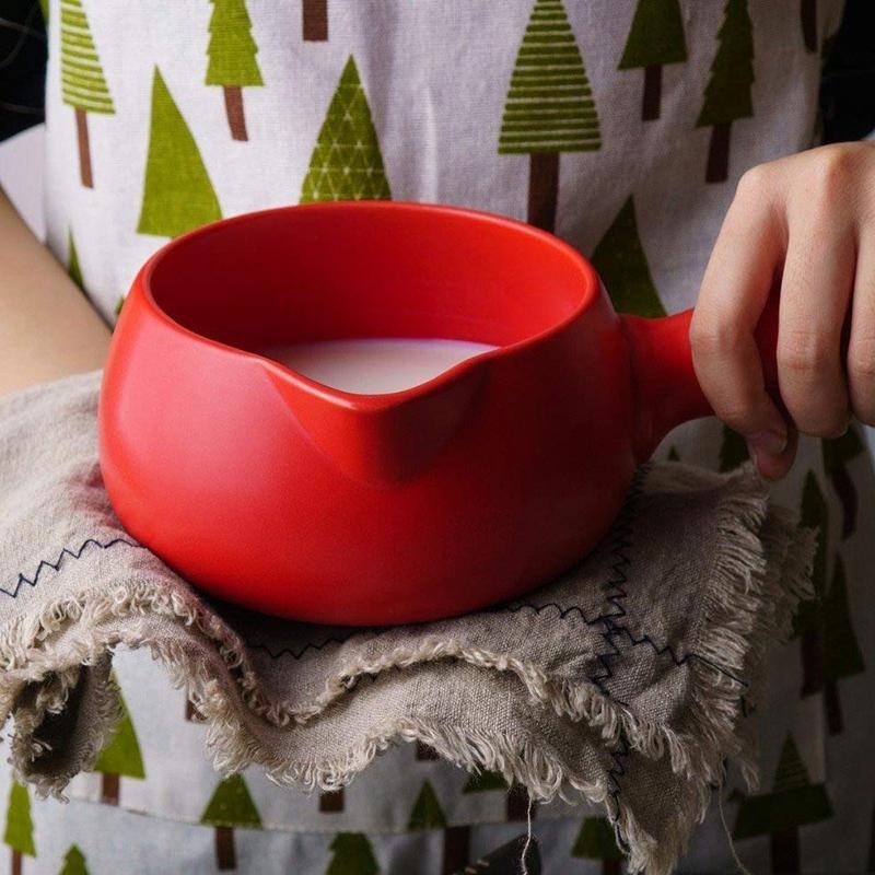 500-Ml-Keramik-WaeRmer-Milch-Butter-Mini-Topf-Kochgeschirr-KueChe-Kochgeschir-I2R9 Indexbild 3