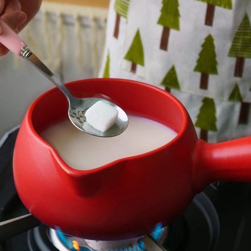 500-Ml-Keramik-WaeRmer-Milch-Butter-Mini-Topf-Kochgeschirr-KueChe-Kochgeschir-I2R9 Indexbild 6