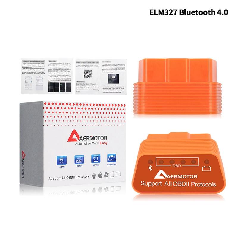 1X-Adaptateur-Android-Sous-Windows-IOS-de-Windows-Aermotor-ELM327-OBD2-Scan-V1L9 miniature 3