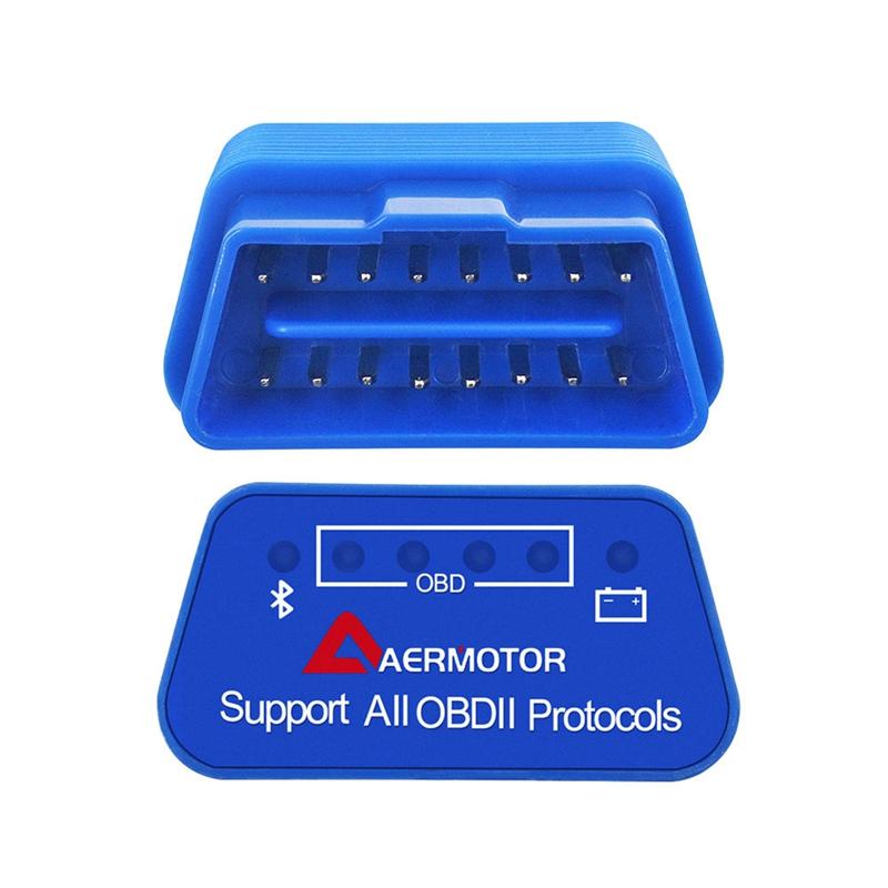 1X-Adaptateur-Android-Sous-Windows-IOS-de-Windows-Aermotor-ELM327-OBD2-Scan-V1L9 miniature 15
