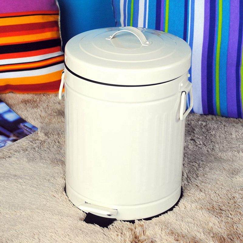 Bathroom Trash Can with Lid, Trash Can for Bedroom Office ...