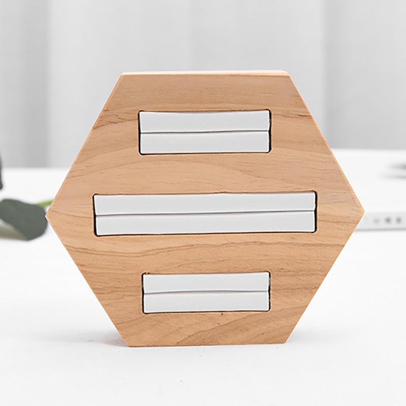 Indexbild 9 - Holz Ring Insert Display Halter Fach Schmuck Aufbewahrungsbox Organizer Sho D3R9