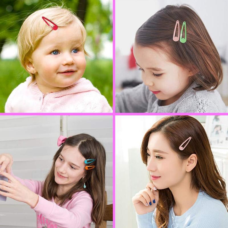 1X-Pinces-a-Cheveux-80PCS-Barrettes-de-Cheveux-MeTalliques-AntideRapantes-d-Q4V miniature 5