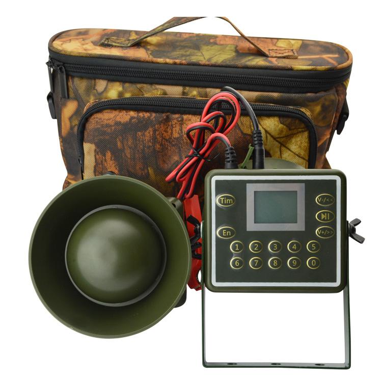 60W-Speakers-Hunting-Decoy-Waterproof-Duck-Bird-Caller-Sounds-Trap-Hunting-S6I5