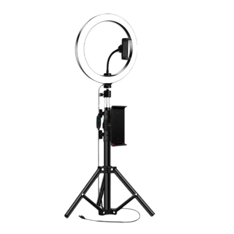 Ring Light 10 with Tripod Stand /& Phone Holder for YouTube Video Desktop Camera Led Ring Light for Streaming Makeup Size : 120cm Selfie
