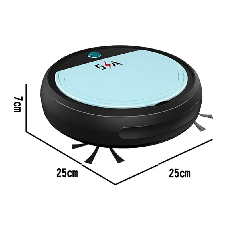 Wiederaufladbare-Smart-Robot-4-im-1-3200Pa-USB-Auto-Smart-Kehrroboter-UV-St-G2C8 Indexbild 16