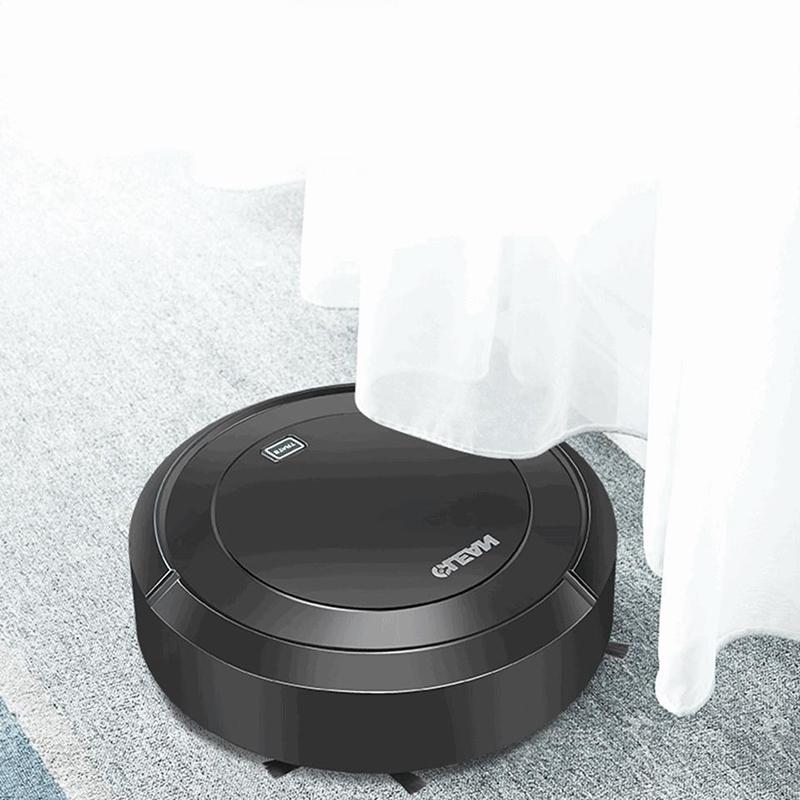 1X-Balayage-Automatique-Robot-Aspirateur-USB-Charge-MeNage-Sans-Fil-Aspirat-A4G9 miniature 9