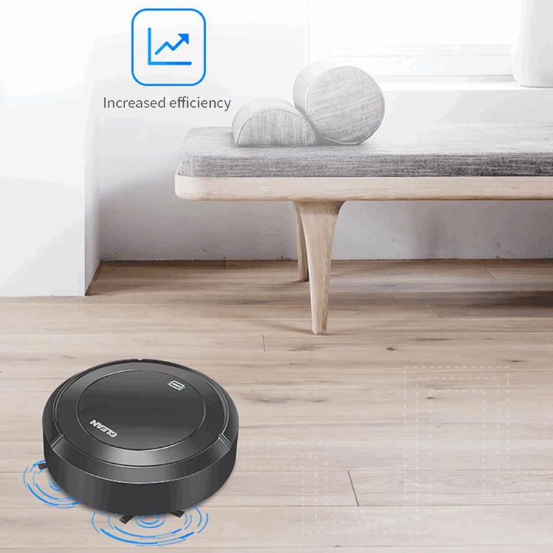1X-Balayage-Automatique-Robot-Aspirateur-USB-Charge-MeNage-Sans-Fil-Aspirat-A4G9 miniature 16