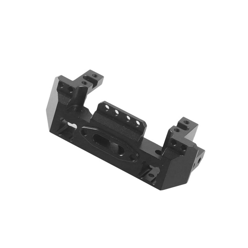 Metall-Aluminium-Lenkung-Getriebe-Winde-Vorne-Halterung-fuer-1-10-RC-Crawler-Y1N8 Indexbild 3