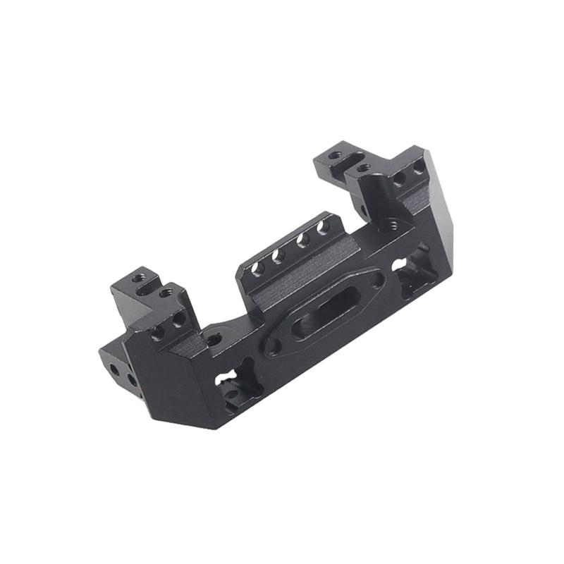 Metall-Aluminium-Lenkung-Getriebe-Winde-Vorne-Halterung-fuer-1-10-RC-Crawler-Y1N8 Indexbild 5