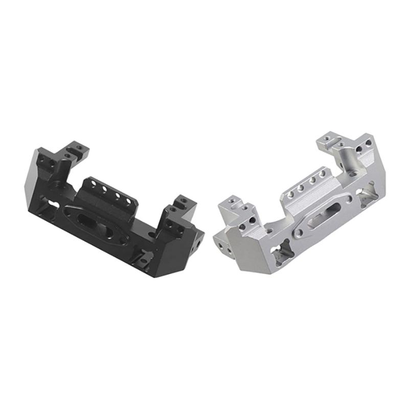 Metall-Aluminium-Lenkung-Getriebe-Winde-Vorne-Halterung-fuer-1-10-RC-Crawler-Y1N8 Indexbild 8
