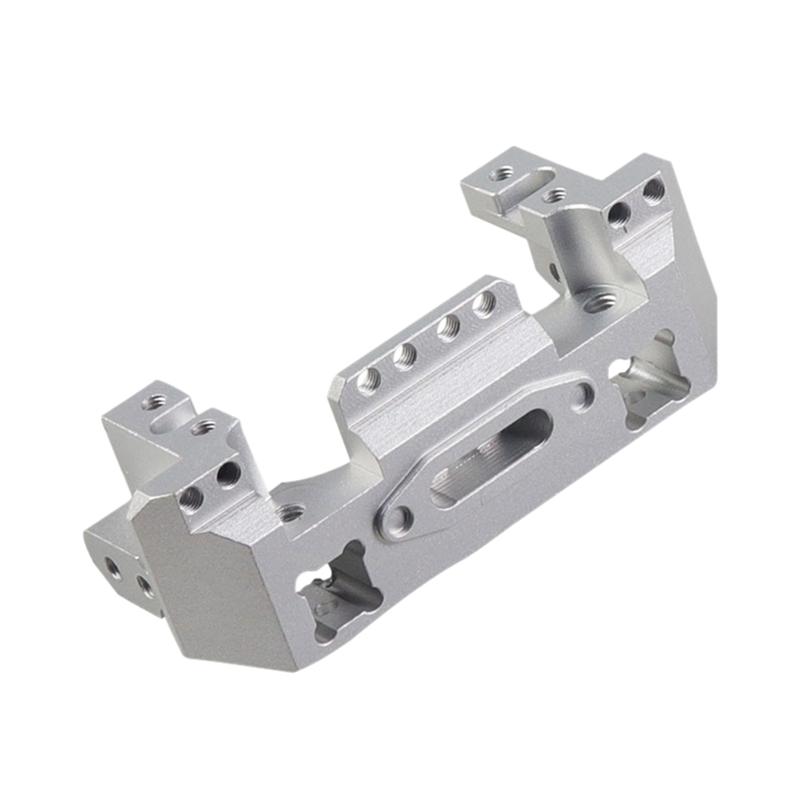 Metall-Aluminium-Lenkung-Getriebe-Winde-Vorne-Halterung-fuer-1-10-RC-Crawler-Y1N8 Indexbild 12