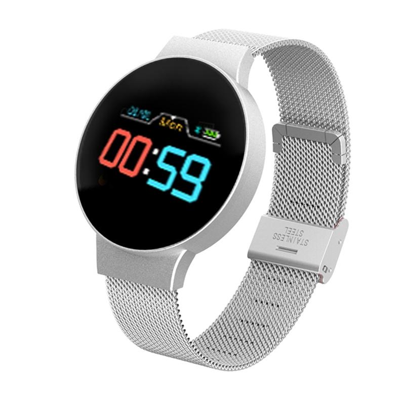 Indexbild 2 - R11 Smart Watch Farbdisplay Uhr Fitness Tracker Pulsmesser für Android Ios R8C3
