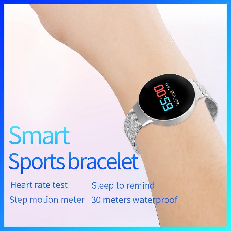 Indexbild 13 - R11 Smart Watch Farbdisplay Uhr Fitness Tracker Pulsmesser für Android Ios X1I6