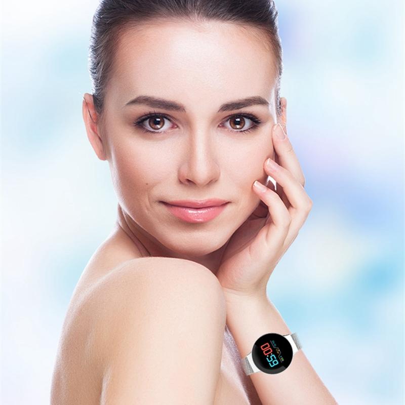 Indexbild 21 - R11 Smart Watch Farbdisplay Uhr Fitness Tracker Pulsmesser für Android Ios X1I6