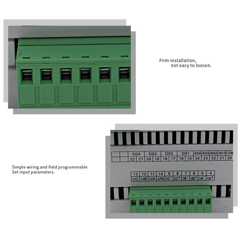 Nuevo-Medidor-de-Corriente-de-Voltaje-Multifuncional-TrifaSico-Digital-Volt-E8T2 miniatura 5
