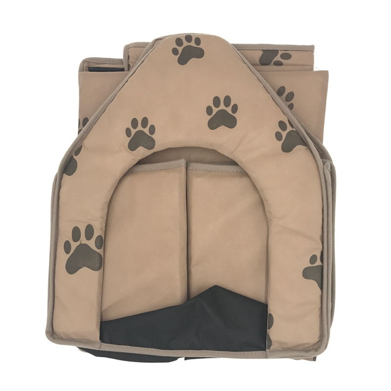 Dog-House-Dog-Bed-Foldable-Cat-House-Small-Footprint-Pet-Bed-Tent-Cat-Kenne-R5I0 thumbnail 4