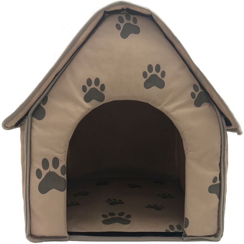 Dog-House-Dog-Bed-Foldable-Cat-House-Small-Footprint-Pet-Bed-Tent-Cat-Kenne-R5I0 thumbnail 5