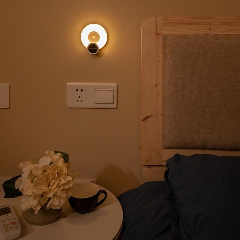 Wand-Leuchte-Aromatherapie-Nacht-Licht-mit-Bewegungs-Melder-Wand-Not-Leucht-E7U3 Indexbild 4