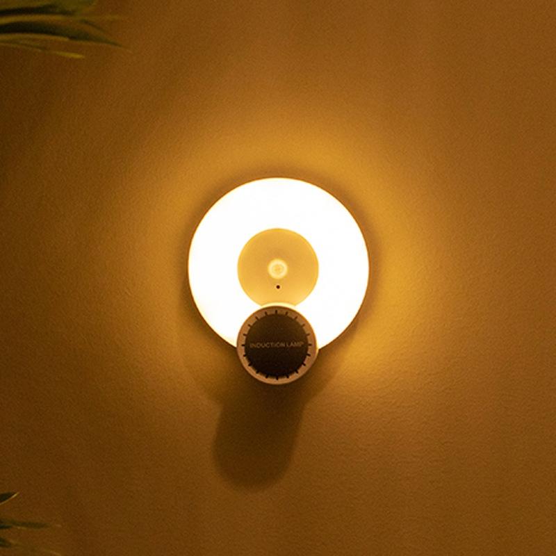 Wand-Leuchte-Aromatherapie-Nacht-Licht-mit-Bewegungs-Melder-Wand-Not-Leucht-E7U3 Indexbild 5