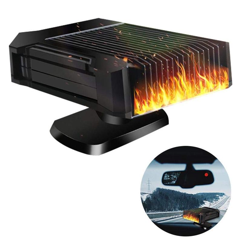 LFES con presa accendisigari sbrinare 150 W Riscaldatore portatile per auto per sbrinare 12 V per auto